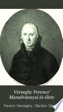 Verseghy Ferencz maradvánnyai 1825